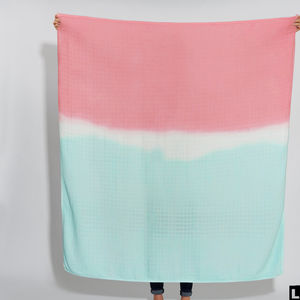 Limited Edition Lady Garden Campaign Scarf Blanket