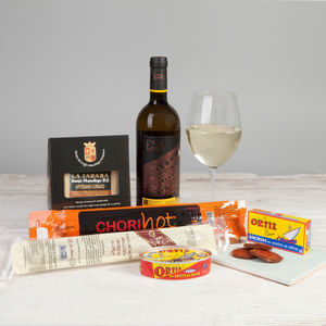 Tapas And Txakoli Hamper - spanish hampers