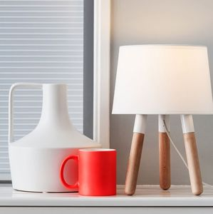 Colour Dip Table Lamp - living room