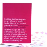 'Really Quite A Long Time Like Forever' Card - cards