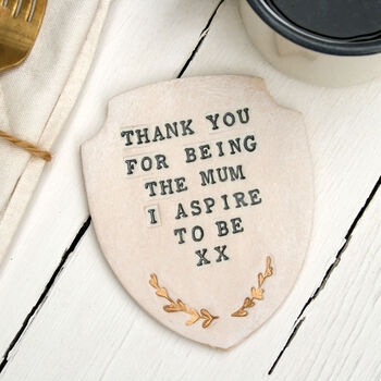 Mother's Day Award Ceramic Coaster