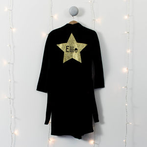 Childs Star Personalised Dressing Gown