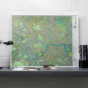 London Wall Map