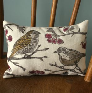 British Birds Lavender And Chamomile Sleep Pillow - cushions