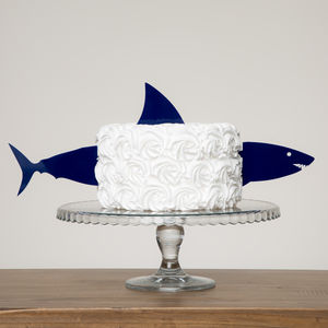 Shark Cake Topper - party decorations