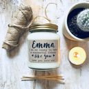 Personalised 'Friend' Soy Scented Candle