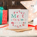 Merry Christmas Mum And Dad Card