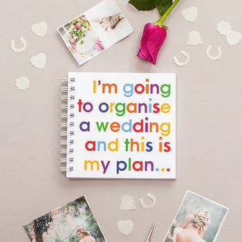 Organise A Wedding Notebook For Brides To Be