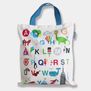 Alphabet Tote Bag - accessories sale
