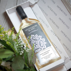 Letterbox Wine Personalised White Wine - gifts for grandmothers