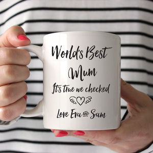 Best Mom Ever Mug - gifts from older children