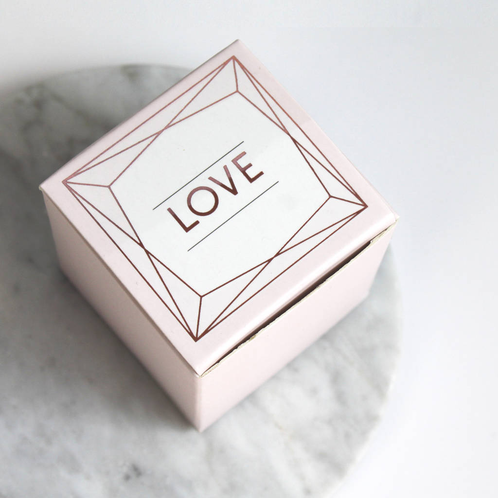 blush rose gold wedding favour box by posh totty designs interiors ...
