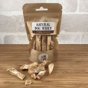 Natural Dog Jerky - dogs