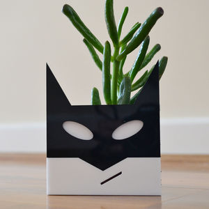 Superhero Planter - gardener