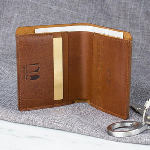Luxury Leather Traditional Bi Fold Wallet - 40th birthday gifts