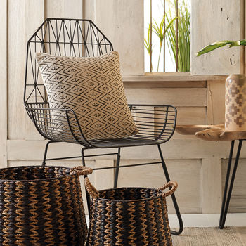 Metal Lattice Chair
