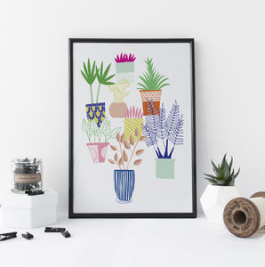 Botanical Print Urban Jungle