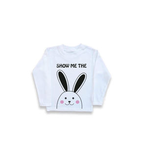 'Show Me The Bunny' Unisex Long Sleeved Tee