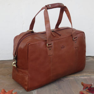 Leather Holdall Travel Bag Gym Bag 20% Off - holdalls & weekend bags