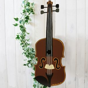Personalised Fiddle/Violin Bird Box