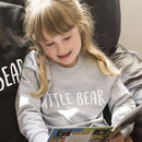 'Little Bear' Children's Sweatshirt Jumper