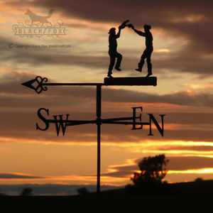 Morris Dancers Weathervane
