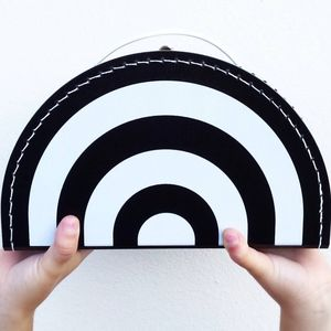 Monochrome Rainbow Carry Case - new in baby & child