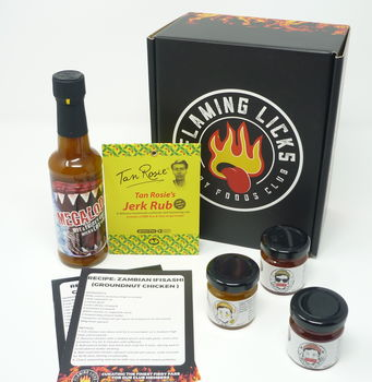 Hot Sauce Lover Subscription Box