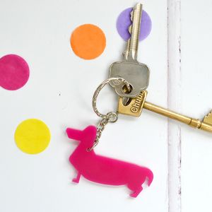 Dachshund Sausage Dog Key Ring