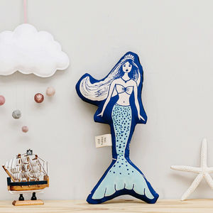 Organic Cotton Mermaid Soft Toy