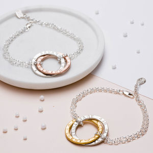Personalised Entwined Halo Bracelet - what's new