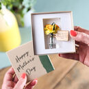 Personalised Forever Daffodils Keepsake