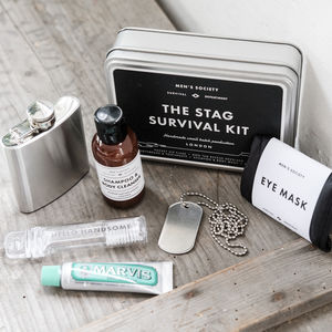 Stag Survival Kit - men's grooming & toiletries