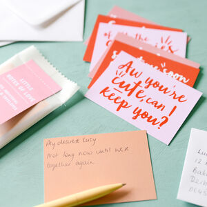 'Random Notes Of Love' Notecards