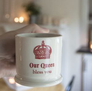 Our Queen Bless You Espresso Mug