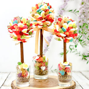 Personalised Chocolate Tree Covered In Haribo - chocolates & confectionery