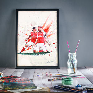 7th Heaven : Arsenal Print