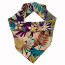 Tropical In Fall Printed Silk For Women, Gift For Her