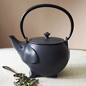 The exotic teapot storefront - Elephant cast iron teapot ...