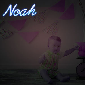 Personalised Neon Any Name Sign - children's lighting