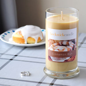Cinnamon Bun Scented Hidden Ring Candle