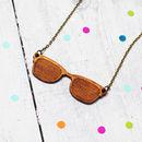 Retro Sunglasses Necklace