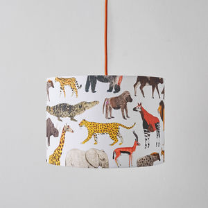 Safari Animals Lampshade