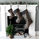 Personalised Mini Christmas Stocking In Black