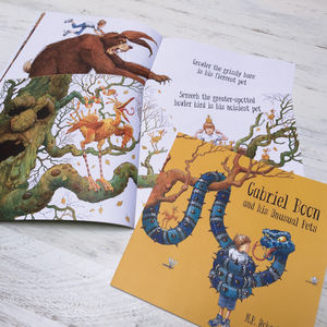 Personalised Children's Story Book With Unusual Pets - books