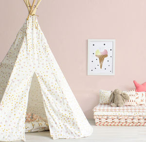 Pink Honey Sparks Nevada Teepee - tents, dens & teepees