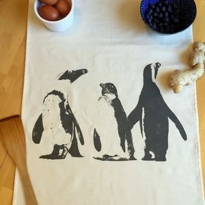 Penguin Dream Tea Towel - kitchen accessories
