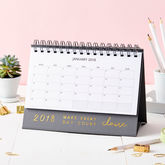 Personalised 'Every Day' 2018 Desk Calendar - trends