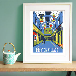 Brixton Village Screen Print - limited edition art