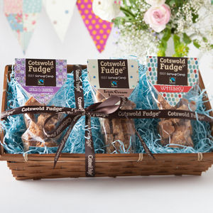 Boozy Fudge Hamper - brand new partners